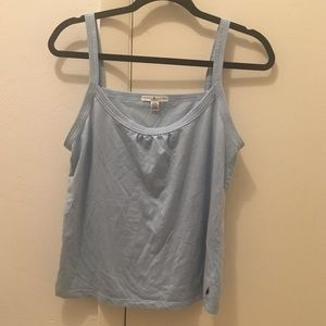 TOMMY HILFIGER baby blue tank top